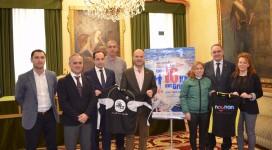 Presentación oficial en el ayuntamiento de Gijon de la carrera de 10Km del Real Grupo Cultural Covadonga